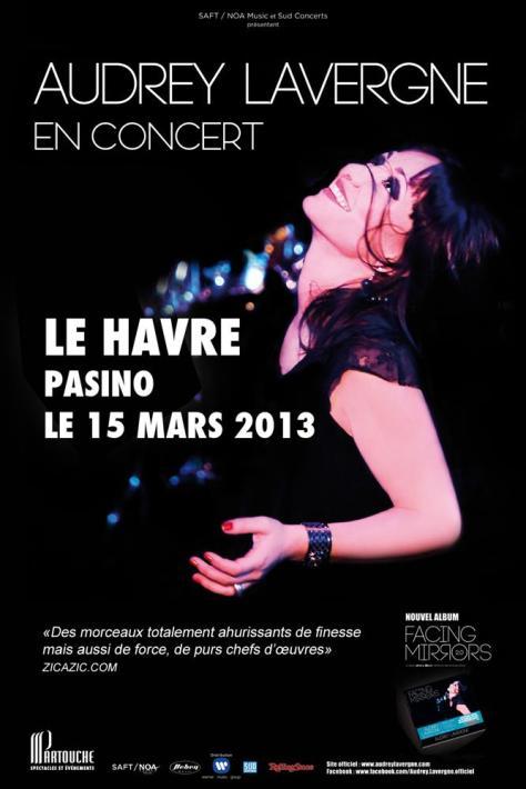 Audrey Lavergne en concert au Pasino du Havre