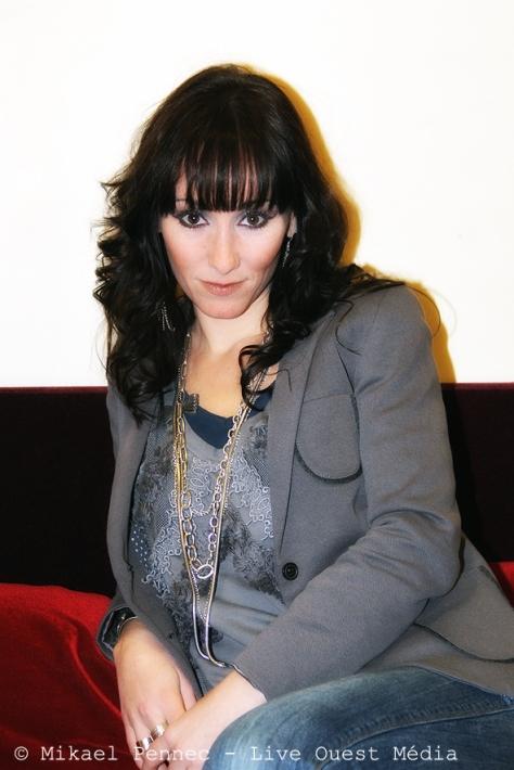 Audrey Lavergne au Pasino du Havre