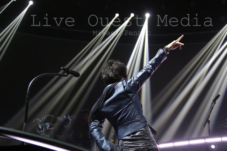 Indochine Black City Tour 2 - Rouen 2013 -© Mikael Pennec - ©Liveouestmedia