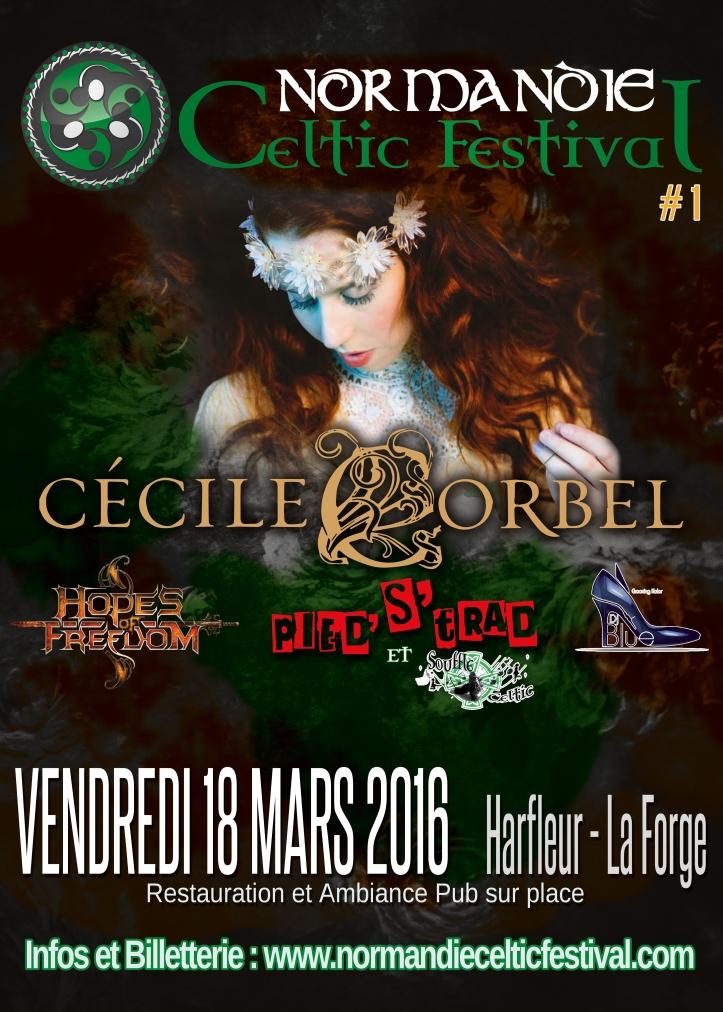 affiche normandie celtic festival 2016