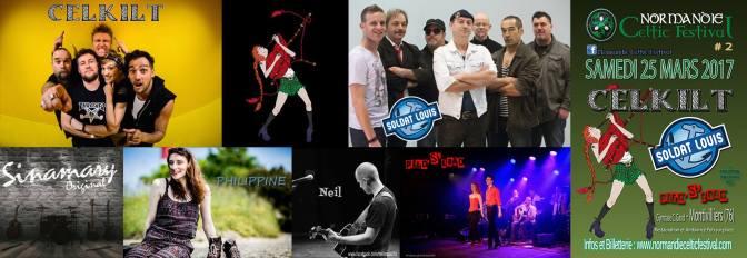 Des places à gagner pour le Normandie Celtic Festival à Montivilliers