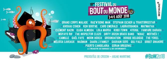 Cap sur le 19 ème festival du Bout du Monde !